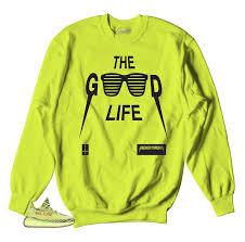 yeezy sweater sweaters match yeezy boost frozen yellow official crewnecks