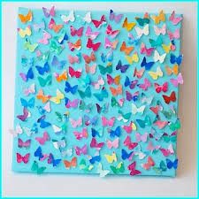 Butterfly Crafts For Kids To Make - i want to have the girls paint on watercolor paper then i u0027ll cut