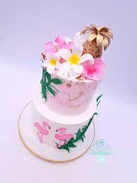 hawaiian themed wedding cakes wedding cakes s cake