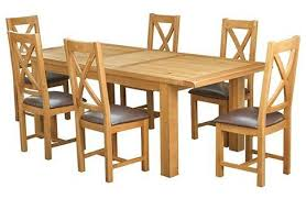 kingston dining room table kingston 1 8 2 3m dining table 6 chairs furniture stores ireland