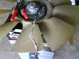 Dodge Ram Cummins Radiator - fan clutch wiring