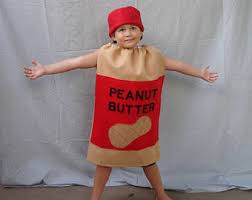 Peanut Butter And Jelly Costume Kids Halloween Costume Pickle Costume Children Teen Food