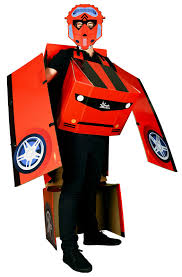 Lighting Mcqueen Halloween Costume by Transforming Morphmobile Costume Buycostumes Com