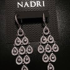 teardrop chandelier earrings 56 nadri jewelry nadri rhinestone chandelier earrings from