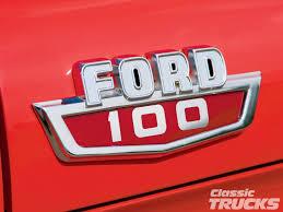 Classic Ford Truck Emblems - homenaje a la ford f100