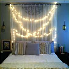 How To Hang String Lights In Bedroom String Lighting Bedroom Decorating Ideas With String