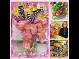 How To Make A Candy Bouquet How To Make A Candy Bouquet With M U0026m U0027s And Snickers A Touch Of
