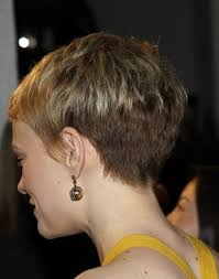 cropped hairstyles with wisps in the nape of the neck for women the best pixie butt i ve ever seen this is a pixie done right