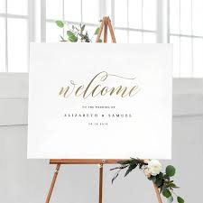 wedding signs template welcome to our wedding sign template printable welcome sign