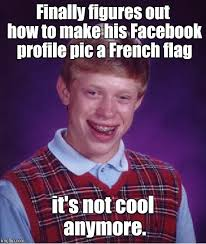 How To Make Facebook Memes - bad luck brian meme imgflip