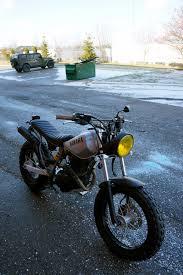 yamaha tw200 buscar con google motorcycles cafe brat