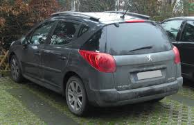 peugeot 207 2007 file peugeot 207 sw seit 2007 rear mj jpg wikimedia commons