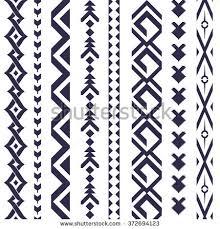 tribal vector pattern textile design stock vector 372694123