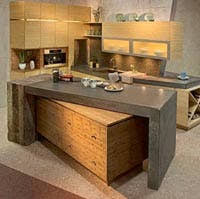 Kitchen Cabinet Components Crystal Greenquest Sustainable Kitchen Cabinets Apartment Therapy