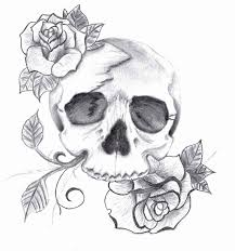 bull skull line drawing how to draw skull tattoos chainimage