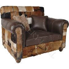 chester cowhide leather club chair mallery hall fine custom