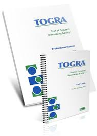 test of general reasoning ability togra acer