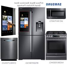 4 Piece Kitchen Appliance Package Kenangorgun Com