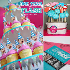 one year in a flash creative first birthday party ideas