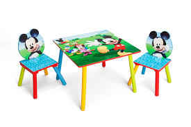 kids play table and chairs easy assemble animated mickey mouse children table and chair