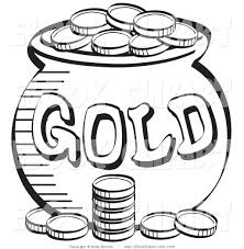 coin clipart coloring page pencil and in color coin clipart