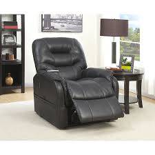 Lift Chair Leather Amazon Com Pulaski Heat Massage Lift Chair In Charcoal Black