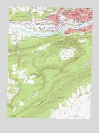 map of williamsport pa williamsport pa topographic map topoquest