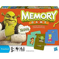 amazon memory shrek toys u0026 games