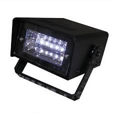 battery operated led strobe light black led and