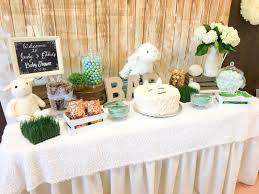 Baby Shower Candy Buffet Pictures by Little Lamb Baby Shower U2013 Candy Buffet Baby Showers Pinterest