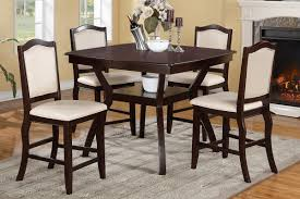 Casual Dining Room Tables by Counter Height 36 Inch High Table Counter Height Casual Dining