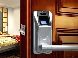 digital sliding door locks mechanical lock door biometric