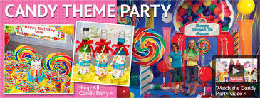 Candy Themed Party Decorations Graduation Party Decorating Ideas Flowers Party Themes Inspiration