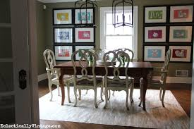 Where To Buy Cowhide Rugs Dining Room Update With A Pieced Cowhide Rug