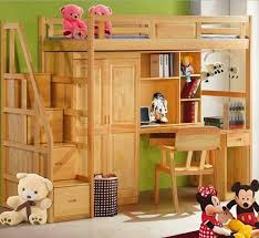 Natural Pine Bedroom Furniture by Webetop Double Bed Natural Solid Wood Childrens Bunk Bed With