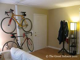 Living Room Bike Rack by The Great Indoors One Last Stop Around The House The Diy Bike Rack