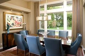 Blue Wingback Chair Design Ideas Fantastic Dining Room Table Blue Wingback Chairs Splendid Blue