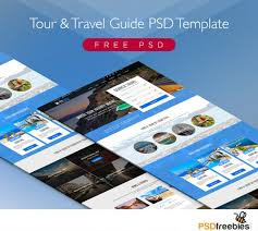 travel and tourism brochure templates free free tour and travel guide psd template psdfreebies