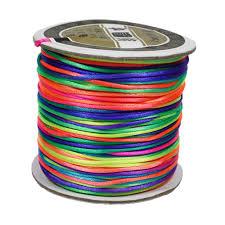 rattail cord beadtin llc rainbow 1mm rattail cord 75m sr1 289