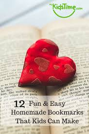 10 fun easy homemade bookmarks pin png