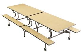 cafeteria benches by 65 mobile folding cafeteria bench table u2022 sico south pacific