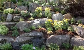 rock garden designs landscaping ideas for front yard garden trends
