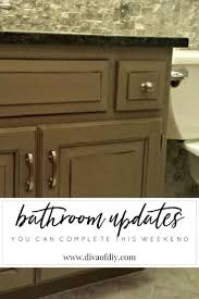 Sillite Outlet by Bathroom Updates You Can Do This Weekend Diy Bathroom Ideas