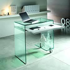 Z Line Belaire Glass L Shaped Computer Desk Desks Z Line Designs Mobile Workstation Desk Z Line Designs