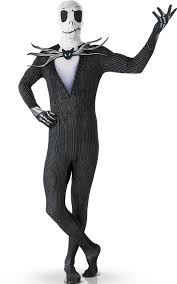 Jack Skellington Costume The Nightmare Before Christmas 2nd Skin Jack Skellington Costume