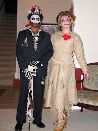 Voodoo Queen Halloween Costume Voodoo Priest Doll Cute Couples Costume Idea Boo