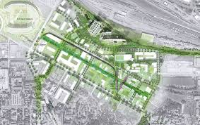 Prospect Park Map Prospect Park District Vision Cuningham Group