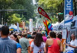 Charlotte Flag 2017 Charlotte Pride Festival U0026 Parade Clture