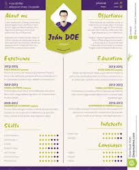 Modern Resume Templates Free Free Colorful Resume Templates Resume For Your Job Application