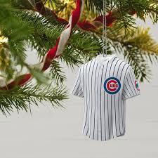 chicago cubs jersey ornament keepsake ornaments hallmark